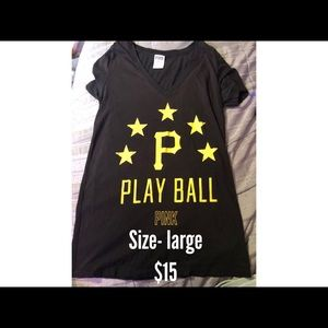 Pittsburgh Pirates pink tee